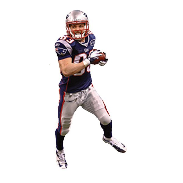 Wes Welker 2012 Fathead Teammate