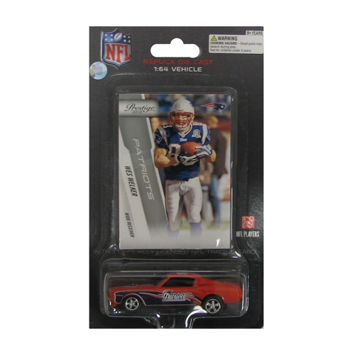 Wes Welker Card/Mustang Pack