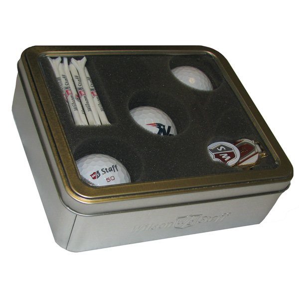Three Logo Golf Ball Set