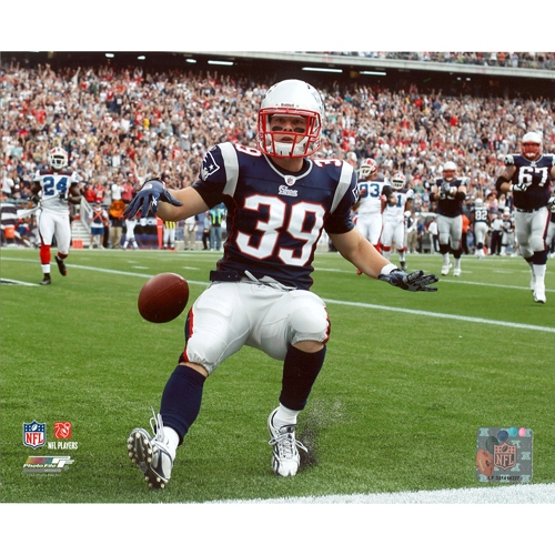 Danny Woodhead 8x10 Carded Photo