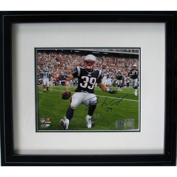 Danny Woodhead Signed Framed Photo