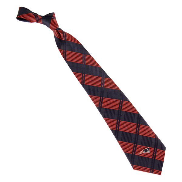 Patriots Plaid Woven Tie