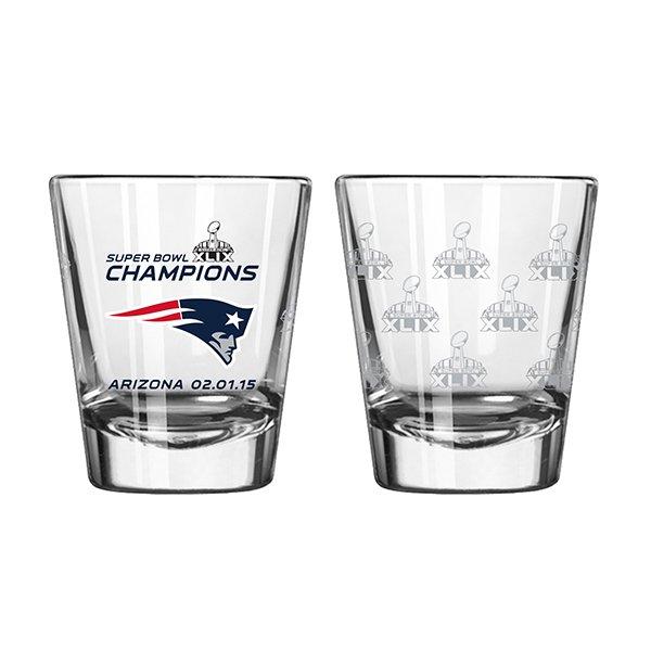 Super Bowl XLIX Champs 2oz Shot Glass