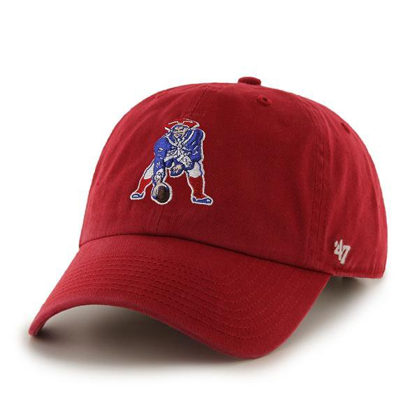 Youth '47 Brand Basic Throwback Cap-Red
