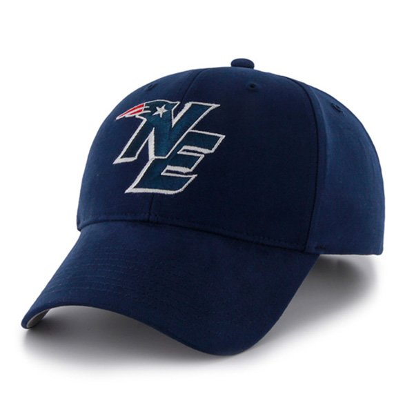 Youth NE Logo '47 Brand Basic Cap-Navy