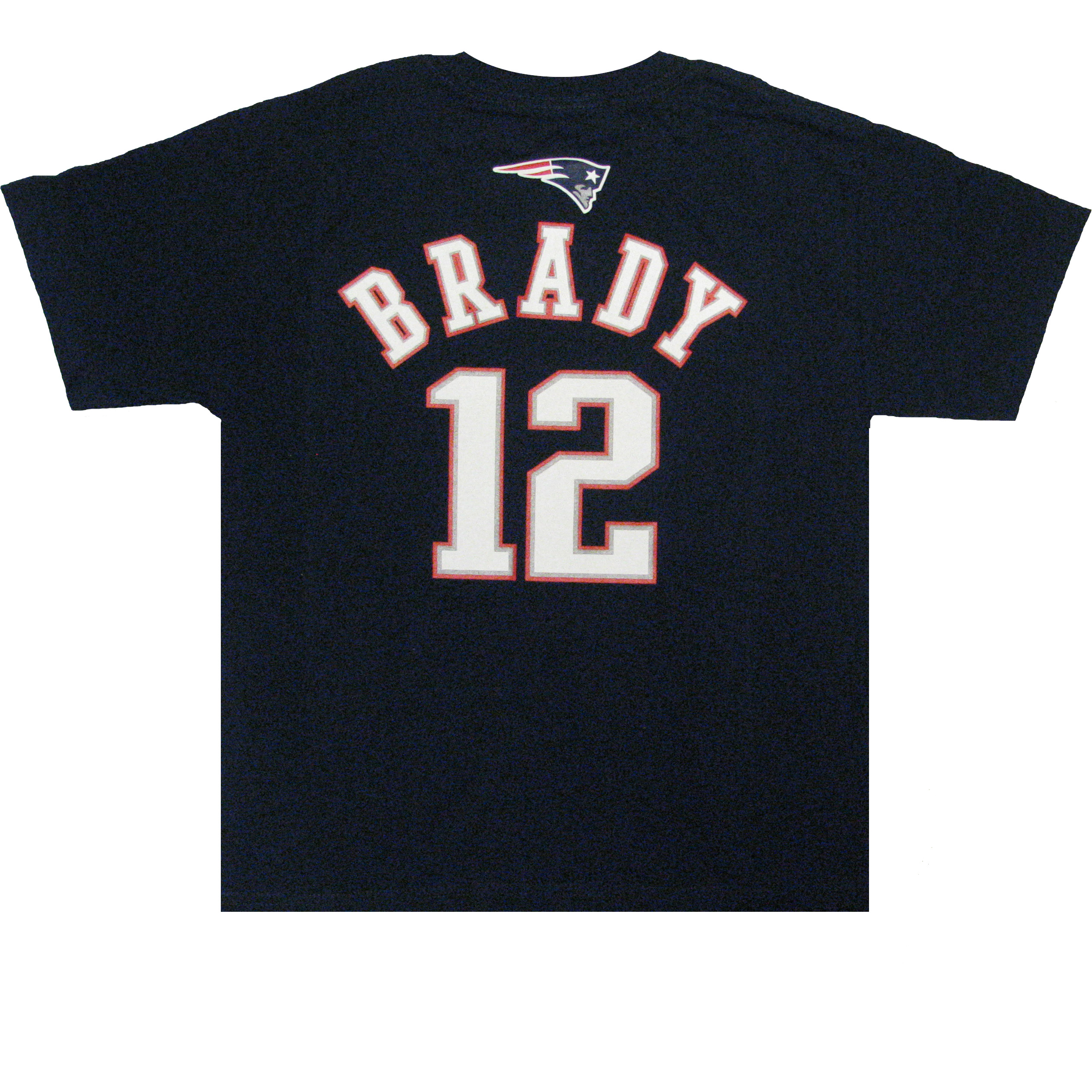 Youth Tom Brady Name & Number Tee