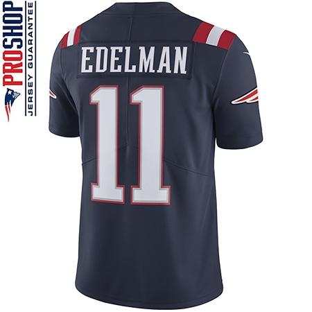 Youth Julian Edelman Color Rush Jersey-Navy