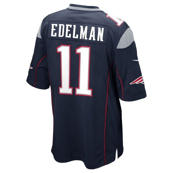 2014 Youth Nike Julian Edelman Jersey-Navy