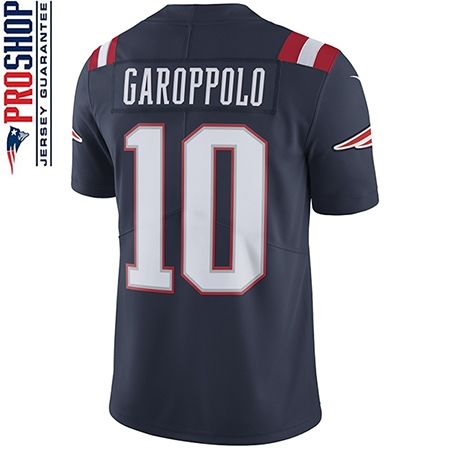 Nike Jimmy Garoppolo #10 Color Rush Limited Jersey-Navy