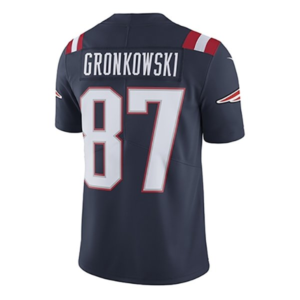 Youth Rob Gronkowski Color Rush Jersey-Navy