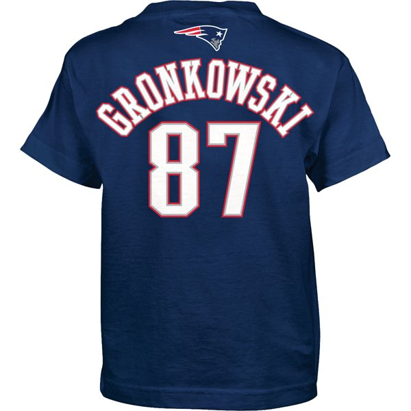 Youth Gronkowski Name and Number Tee