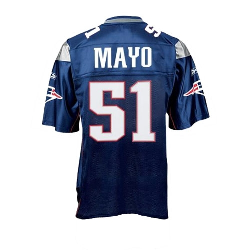 Youth Jerod Mayo Replica Jersey-Navy