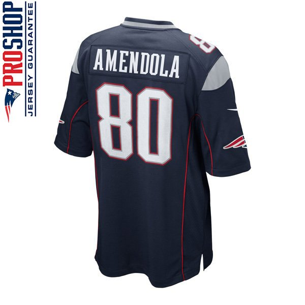 Youth Nike Danny Amendola Game Jersey-Navy