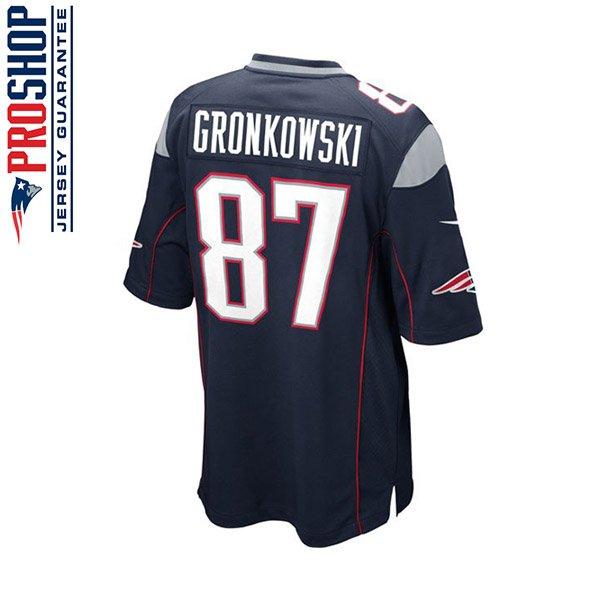 Youth Nike Rob Gronkowski Game Jersey-Navy