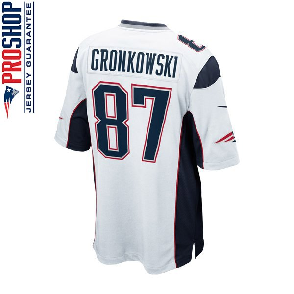 Youth Nike Rob Gronkowski Jersey-White