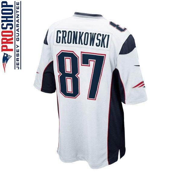 Youth Nike Rob Gronkowski Jersey-White