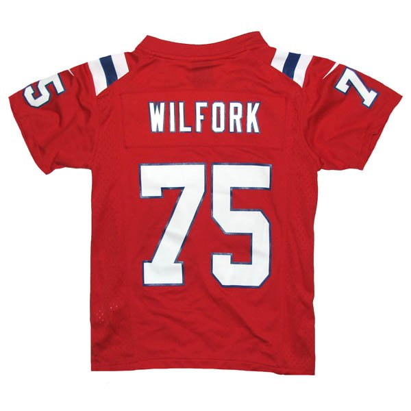 2014 Youth Nike Vince Wilfork Throwback Jersey-Red