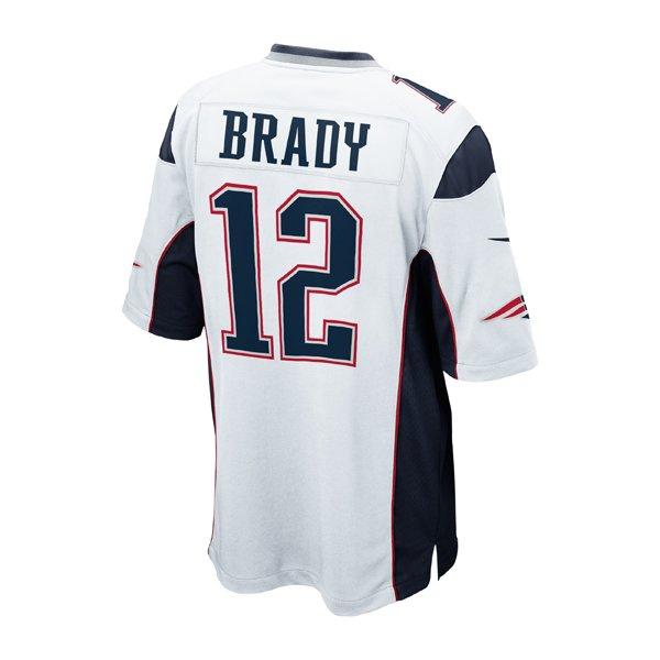 2014 Youth Nike Tom Brady Jersey-White