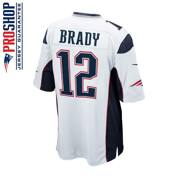 Youth Nike Tom Brady Jersey-White
