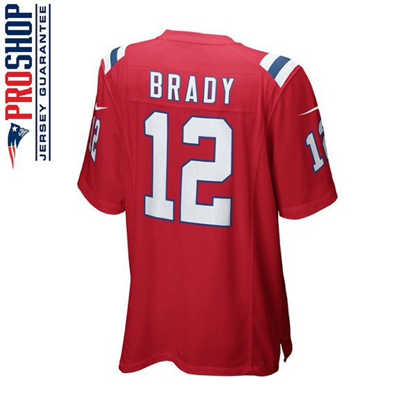 Youth Nike Tom Brady Throwback Jersey-Red