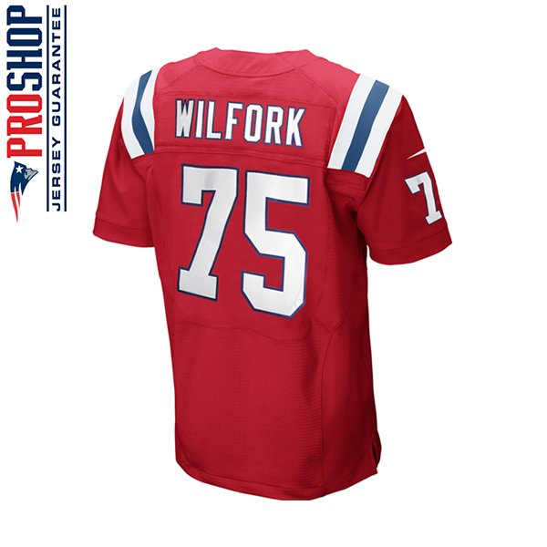 Youth Nike Vince Wilfork Throwback Jersey-Red