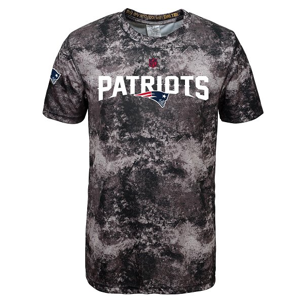 Youth Sublimated Tee-Black/Gray