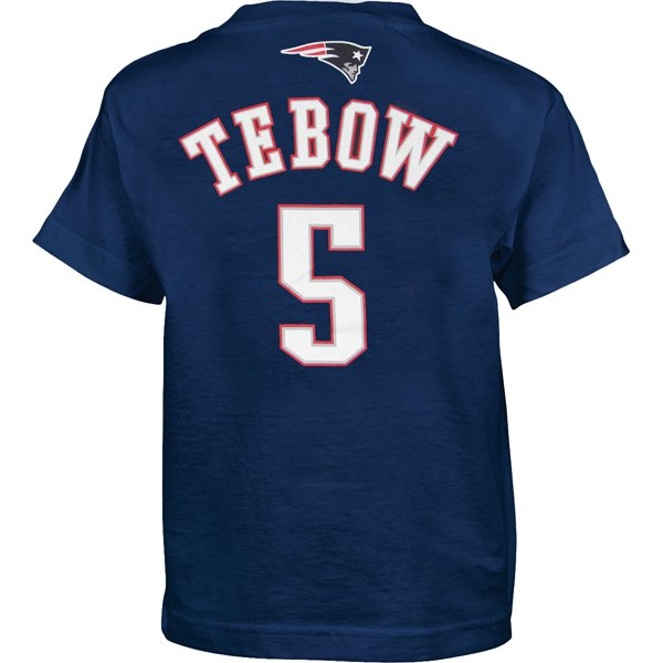 Youth Tim Tebow Name & Number Tee