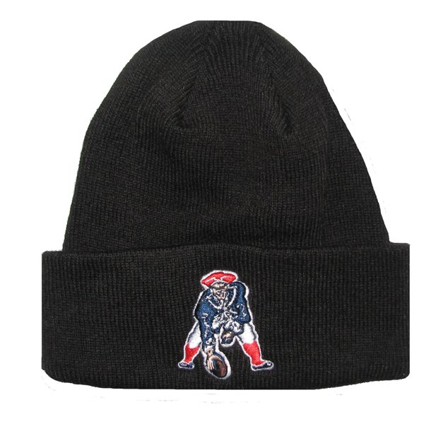 Youth '47 Brand Throwback Cuff Knit Hat-Black