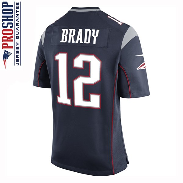 Youth Nike Tom Brady Game Jersey-Navy
