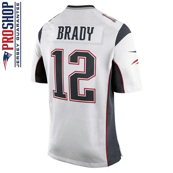 Youth Nike Tom Brady Game Jersey-White