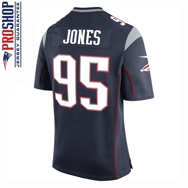 Youth Nike Chandler Jones Game Jersey-Navy
