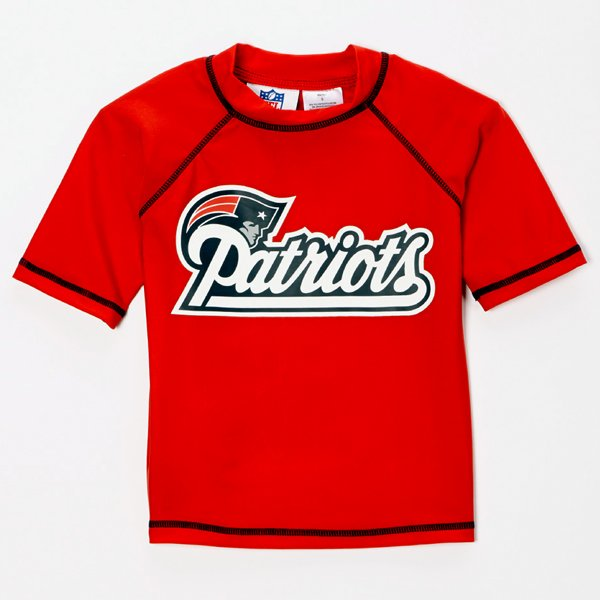 Youth Patriots Rash Guard Top-Red