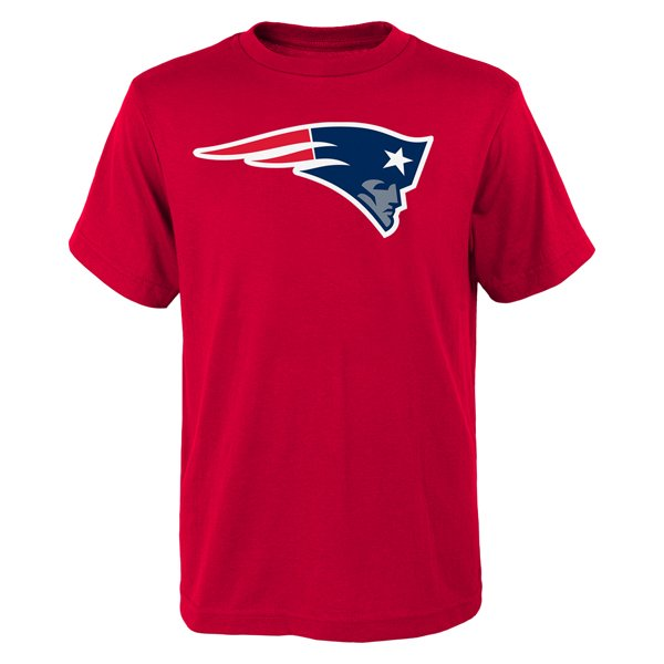 Youth Patriots Logo Tee-Red