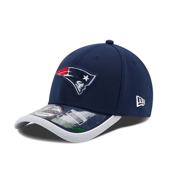 Youth New Era 2014 On Field 39Thirty Cap-Navy/Gray