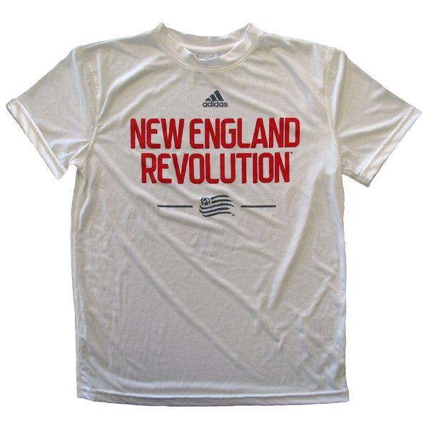 Youth Revolution Climalite Tee-White