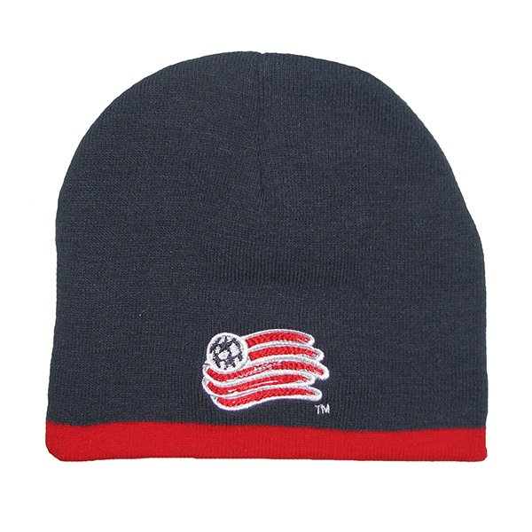 Preschool Revolution Knit Hat-Navy/Red