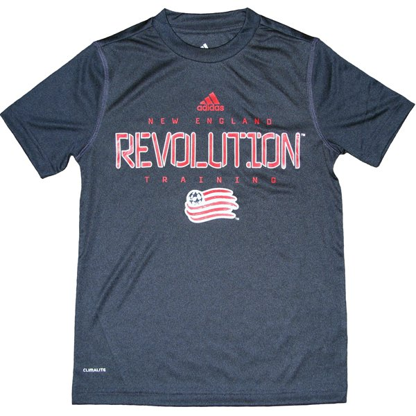 Youth Revolution Speedwick Tee-Navy