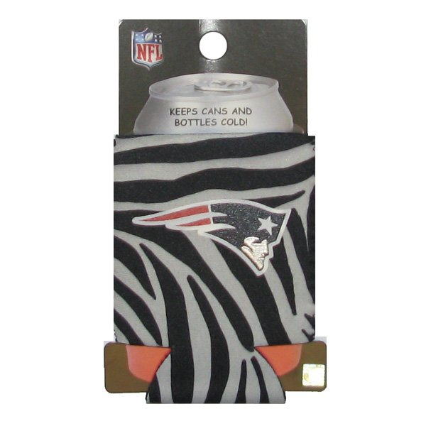 Patriots Zebra Print Kolder Kaddy