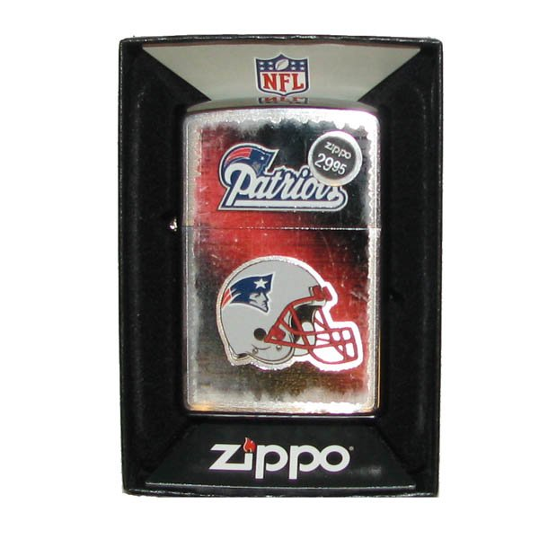 Patriots Stock Zippo Lighter