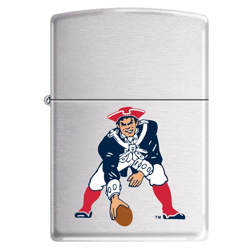 Pats Throwback Zippo Lighter