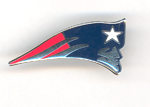 Pats Flying Elvis Pin  
