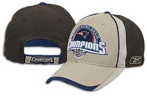 2004 Super Bowl Locker Cap