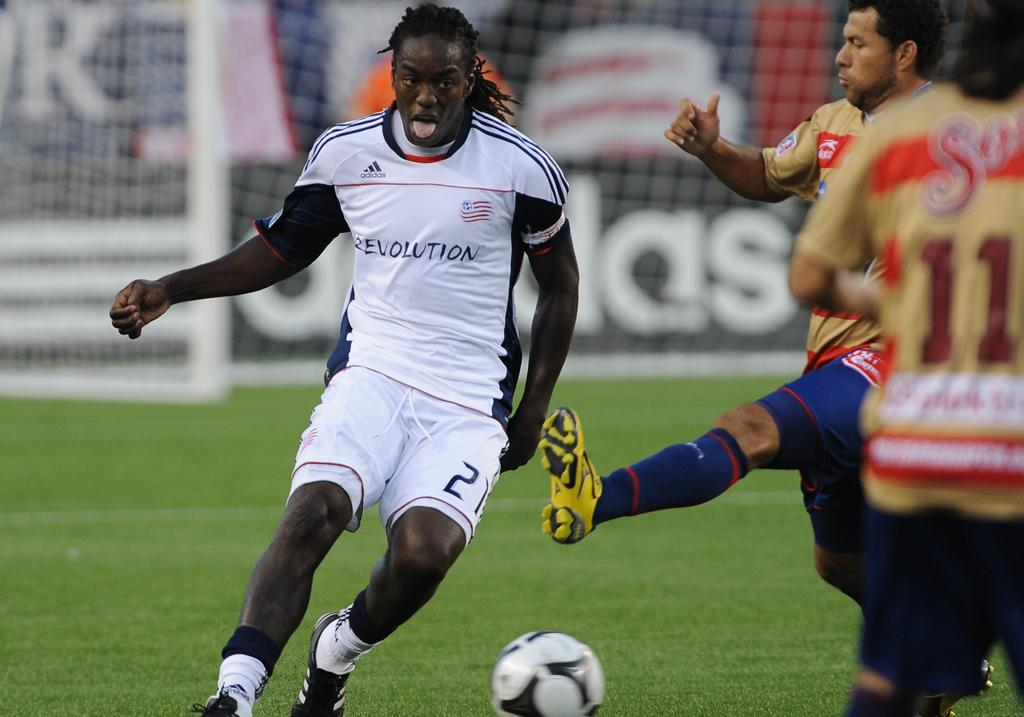 Shalrie Joseph said the Revs need to dictate the pace from the opening whistle on Friday night